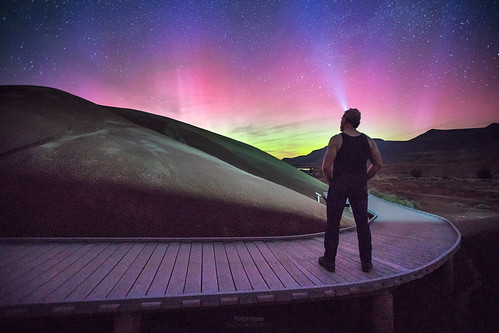 'Aurora Boardwalk' - Painted Hills, Oregon.