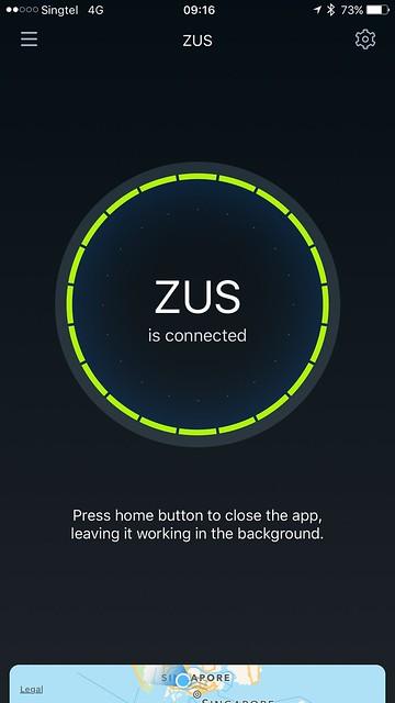 ZUS iOS App - Setup Done