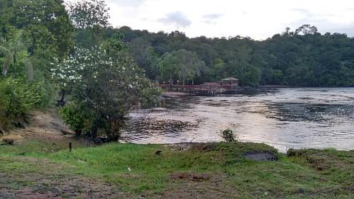 Bom dia! Rio Araguari