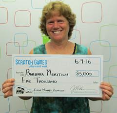 Barbara Moritsch - $5,000 Cash Money Blowout!