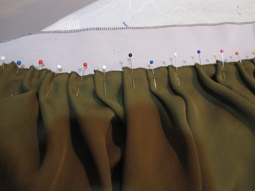 Pleats Pinned