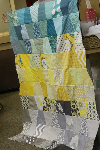 Tumbler Quilt by Nicole