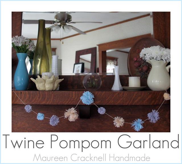 Twine Pompom Garland