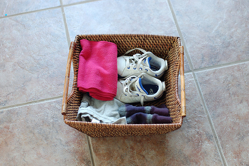 Dressing Basket (Photo from Montessori ici)