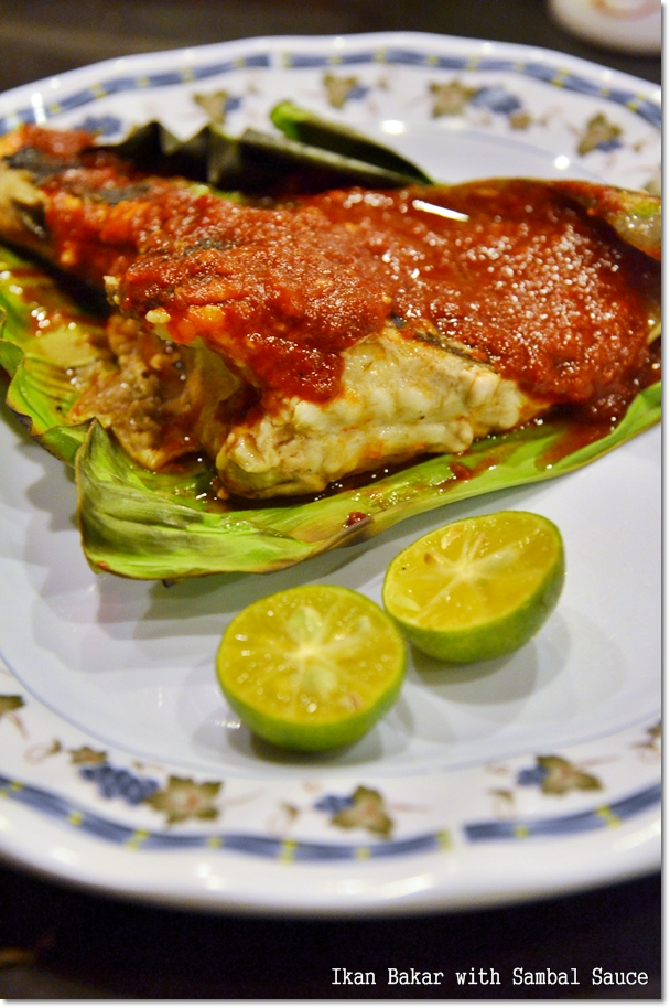 Ikan Bakar with Sambal