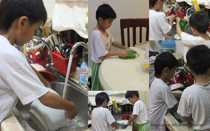 cake making 3 wash & clean
