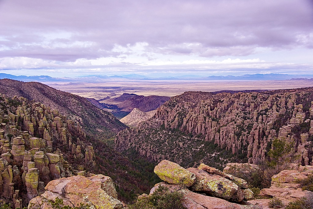 Inspiration Point - View to west - Chiricahua National Monument