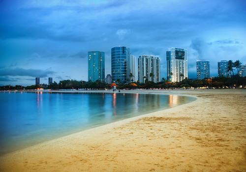 Waikiki after Sunset