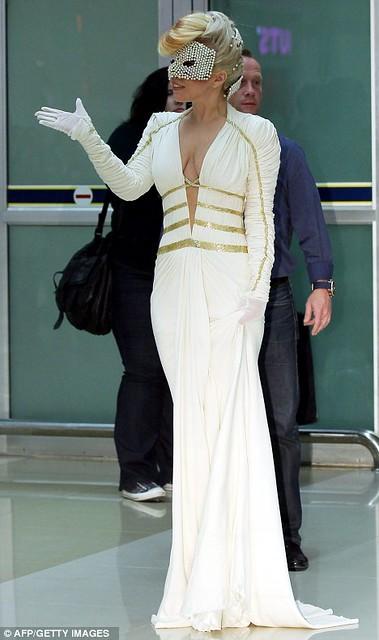 Lady Gaga In Seoul born this way ball