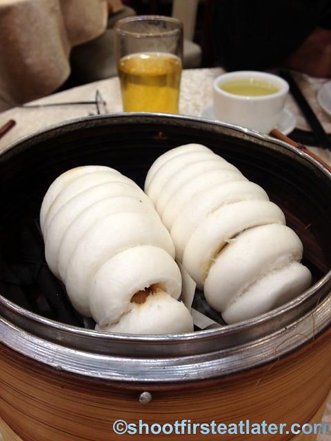 Chuk Yuen dim sum -Chinese sausage 'lap cheong' bun