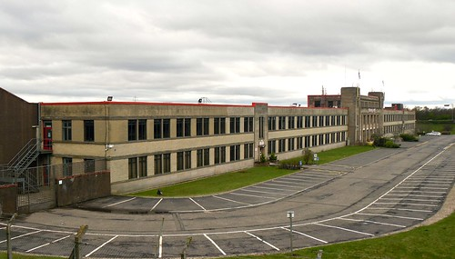 Honeywell Factory, Newhouse from left