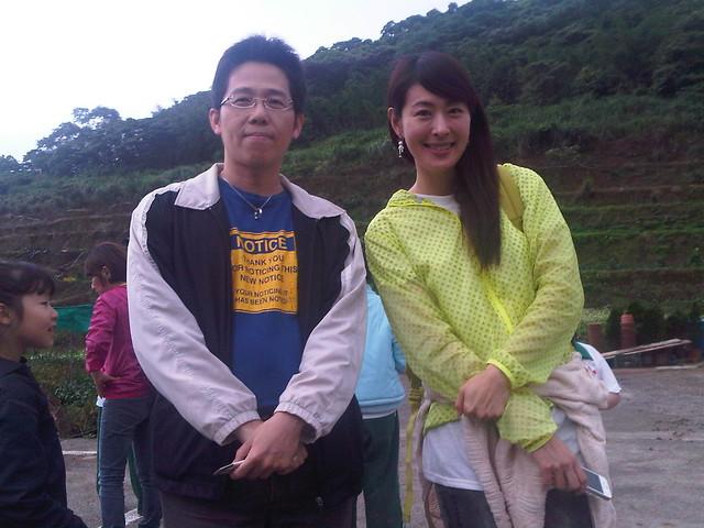 和王小朋友的媽媽(賈永婕)合照