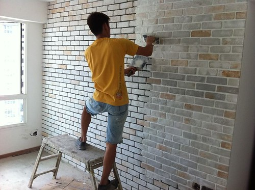 Hdb Brick Wall Design : Project punggol breeze reno t chat renotalk