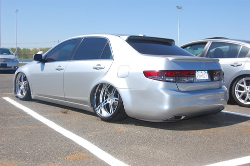 silver 7th gen stanced accord