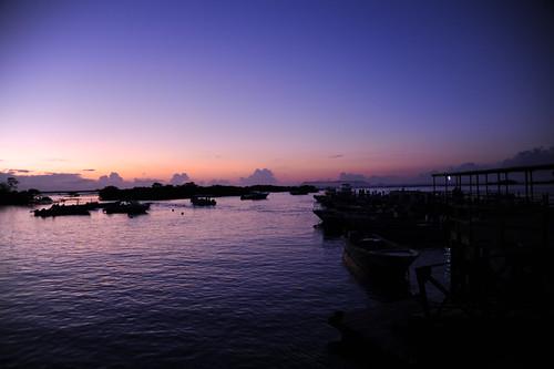 イサベラ島の早朝