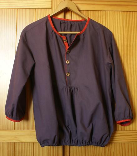blouse grossesse/allaitement - vue d'ensemble