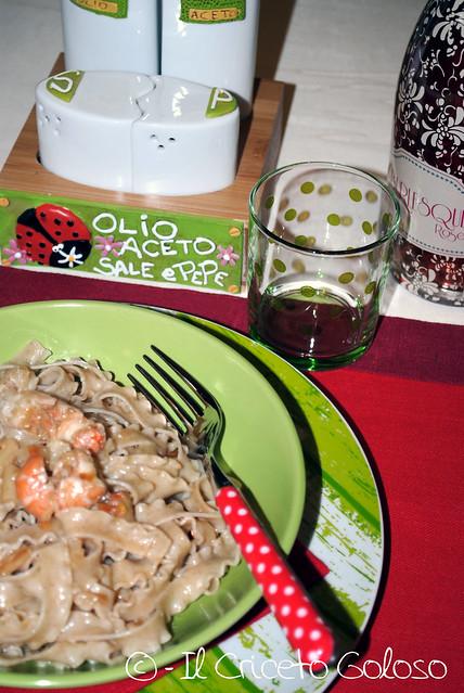Ricciolina con gamberi e asparagi (2)
