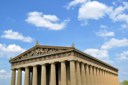 the Parthenon in Nashville, TN