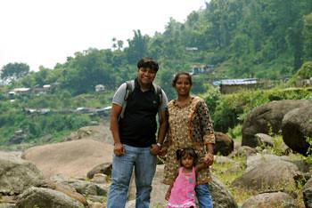 Myself, Smita & Rianna at Bindu