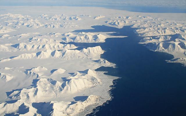 Flight SK4414 Oslo - Longyearbyen