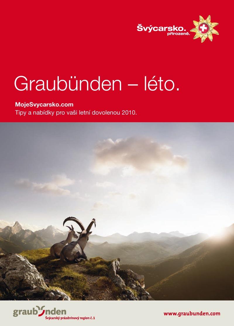 Graubünden – zima/léto (vydání 2010)