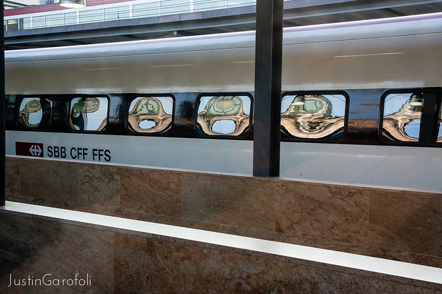 Train Reflections I