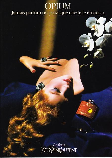 1985 - YSL - Opium perfume