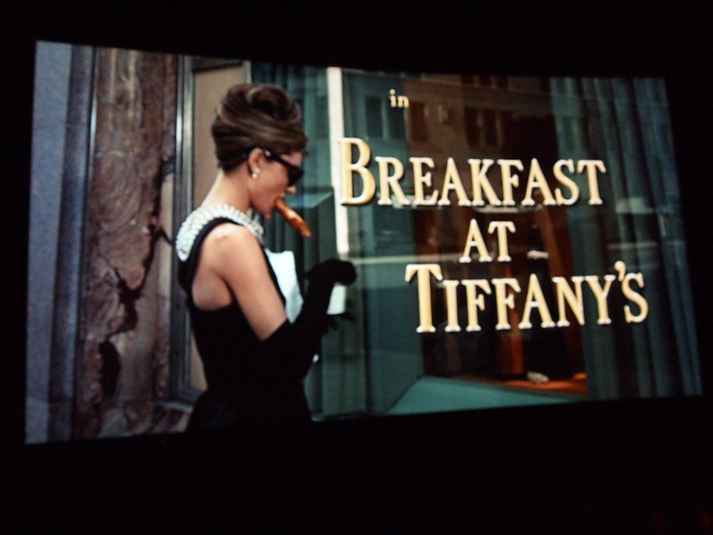 Breakfast at Tiffany's - title