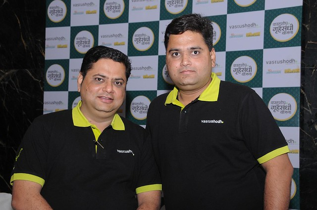 Sachin Kulkarni M.D. and Nitin Kulkarni, Director, Vastushodh Projects, developers of AnandGram & UrbanGram Pune