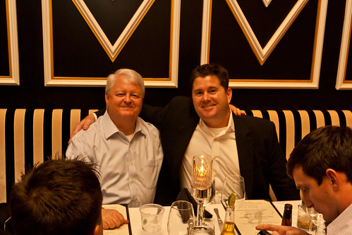 LNL BMs Keith Mitchell & Jonathan Jones at LLA201 Dinner