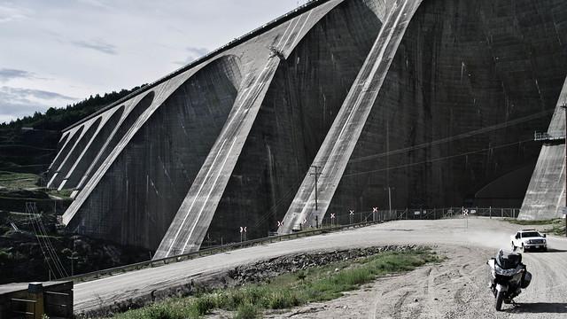 Manic 5 Dam, Quebec