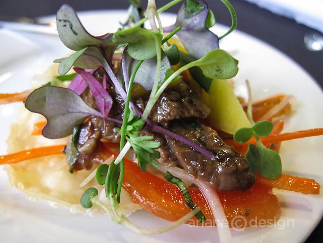 The Boathouse Restaurant: Thai Spiced Beef Tenderloin Salad