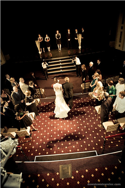 NYC Times Square Wedding Broadway Theater 04