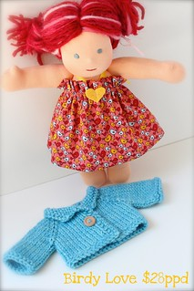 "Birdy Love Set for 10"" Dolls (FREE SHIPPING)"
