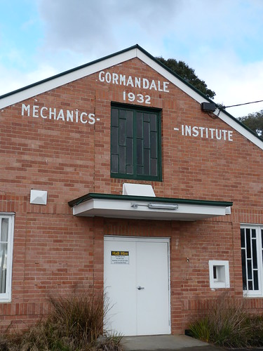 Mechanics Institute, Gormandale