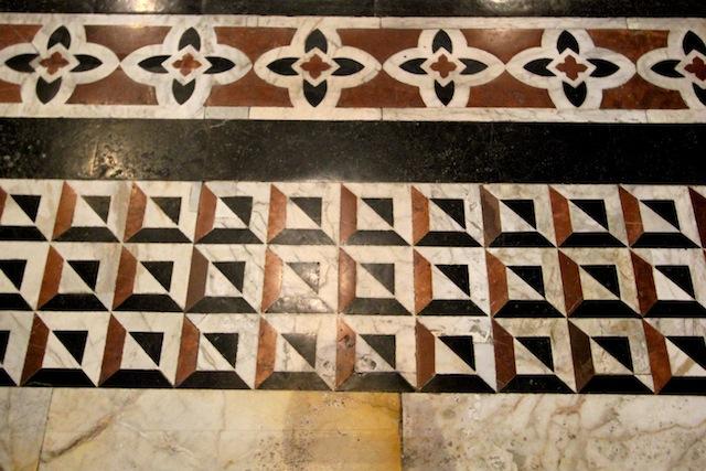 Siena Duomo tiled floor pattern2