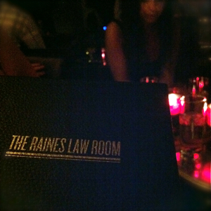 15 The Raines Law Room