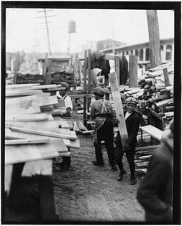 Young boy working for Hickok Lumber Co. Burlington, Vt, September 1910