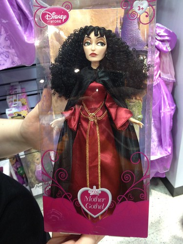 Madre Gother, malvada de Rapunzel