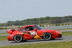 Porsche Club of America racing at NJMP in May 2012