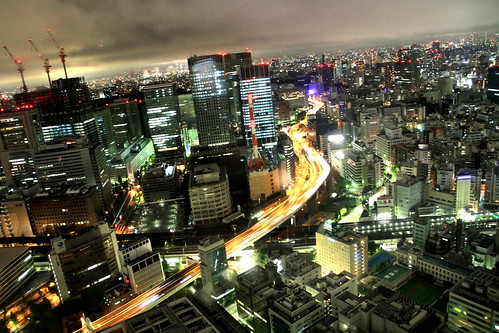 Night City from Mandarin Oriental Tokyo Premier Grand Room