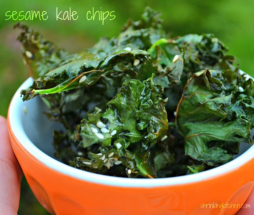 """... and be all like """"These kale chips taste JUST like potato chips"""