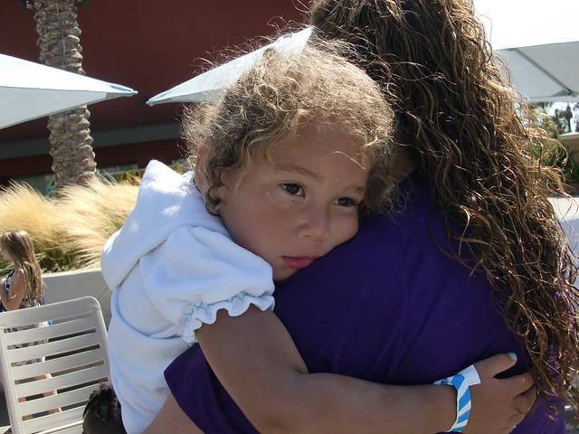 """Hugging Aunt """"Micole"""""""