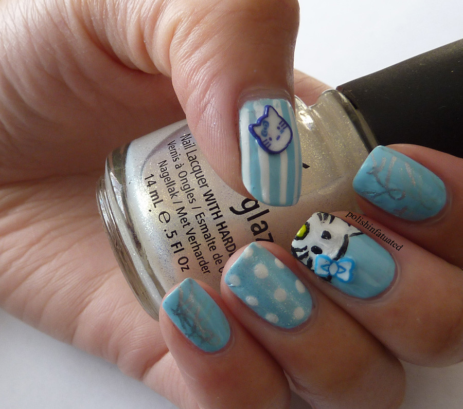 hello kitty nails3