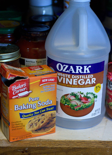 Get Maximum Use out of Supplies like Baking Soda and Vinegar (209/365)