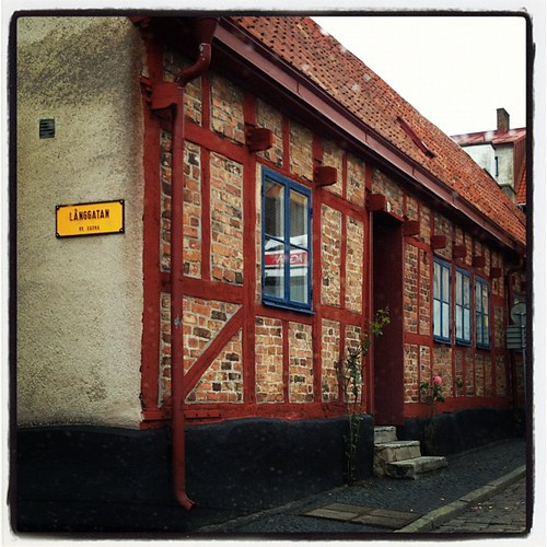 Ystad is full of these old houses. Too bad they cost an arm and a leg. And probably part of your torso as well to buy.