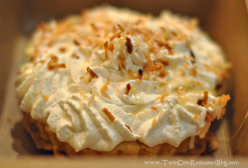 Coconut Cream Pie at Capital Grille ~ Minneapolis, MN copy