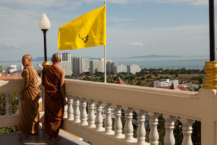 Фотосессия в Тайланде, церемония в буддийском храме