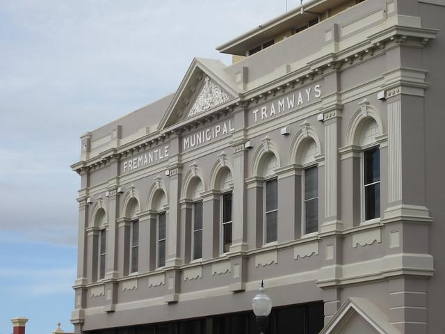 Old Fremantle Tramways building