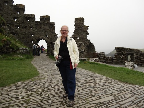 Me at Tintagel!